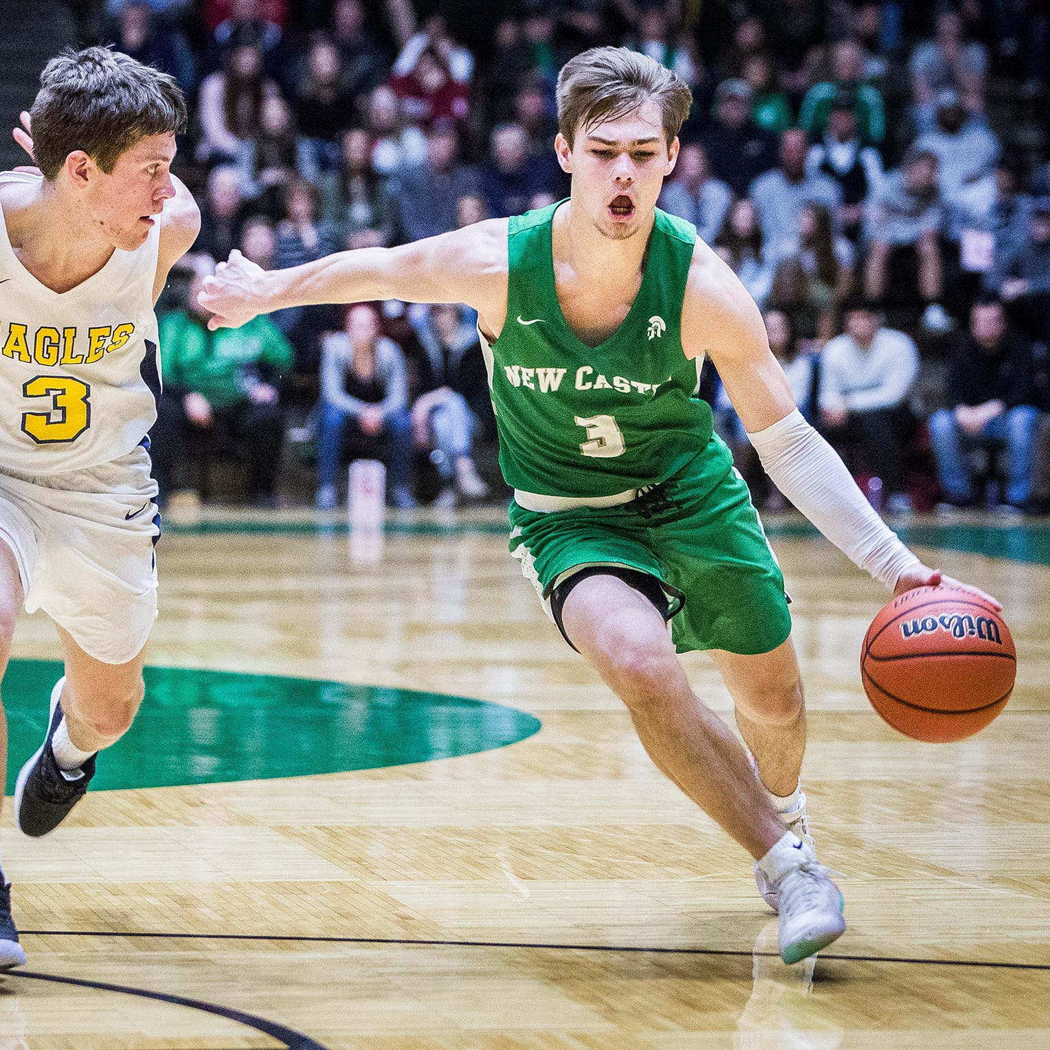 5 questions: How New Castle star Luke Bumbalough gravitated to basketball and more