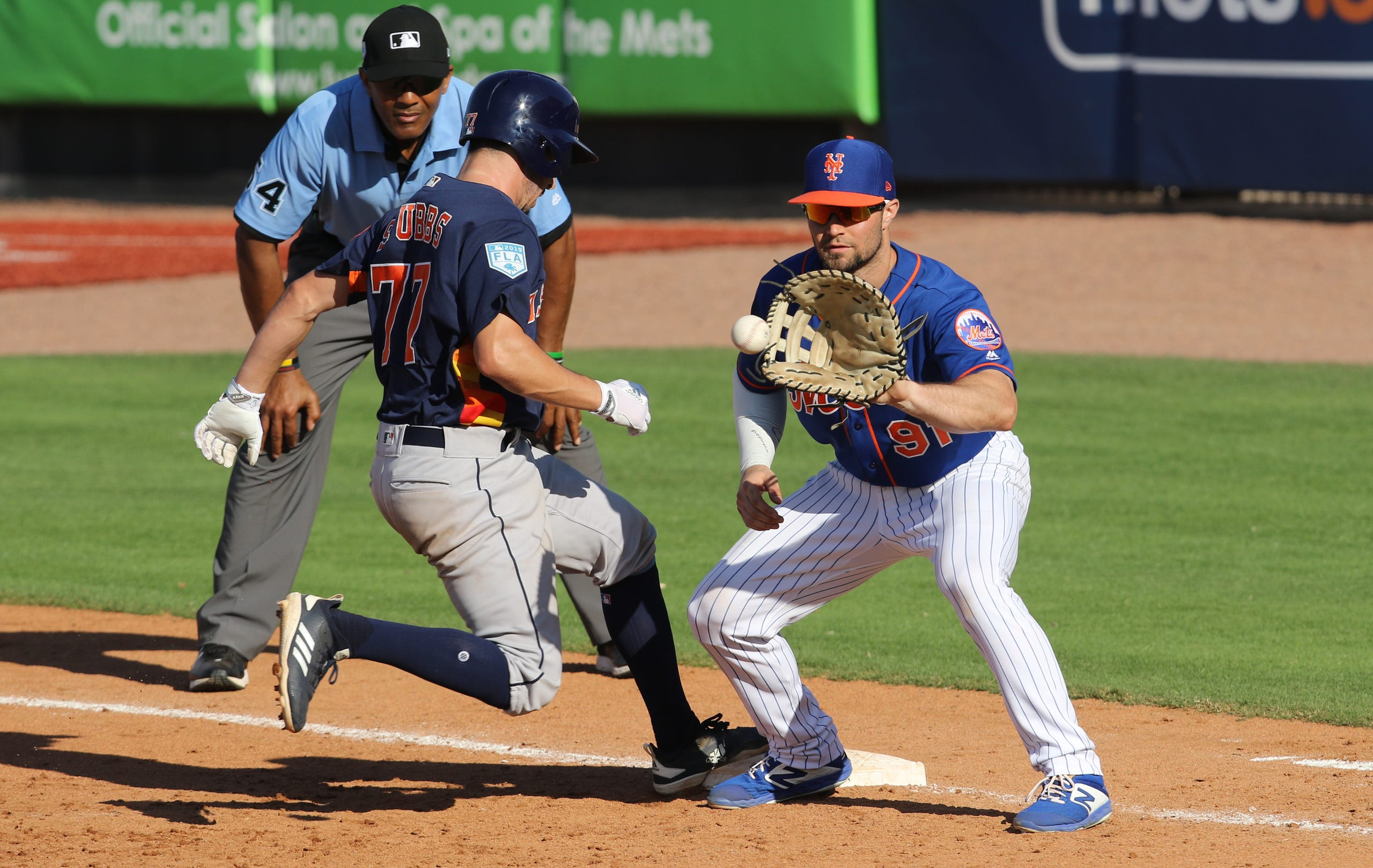 NY Mets spring training March 2, 2019