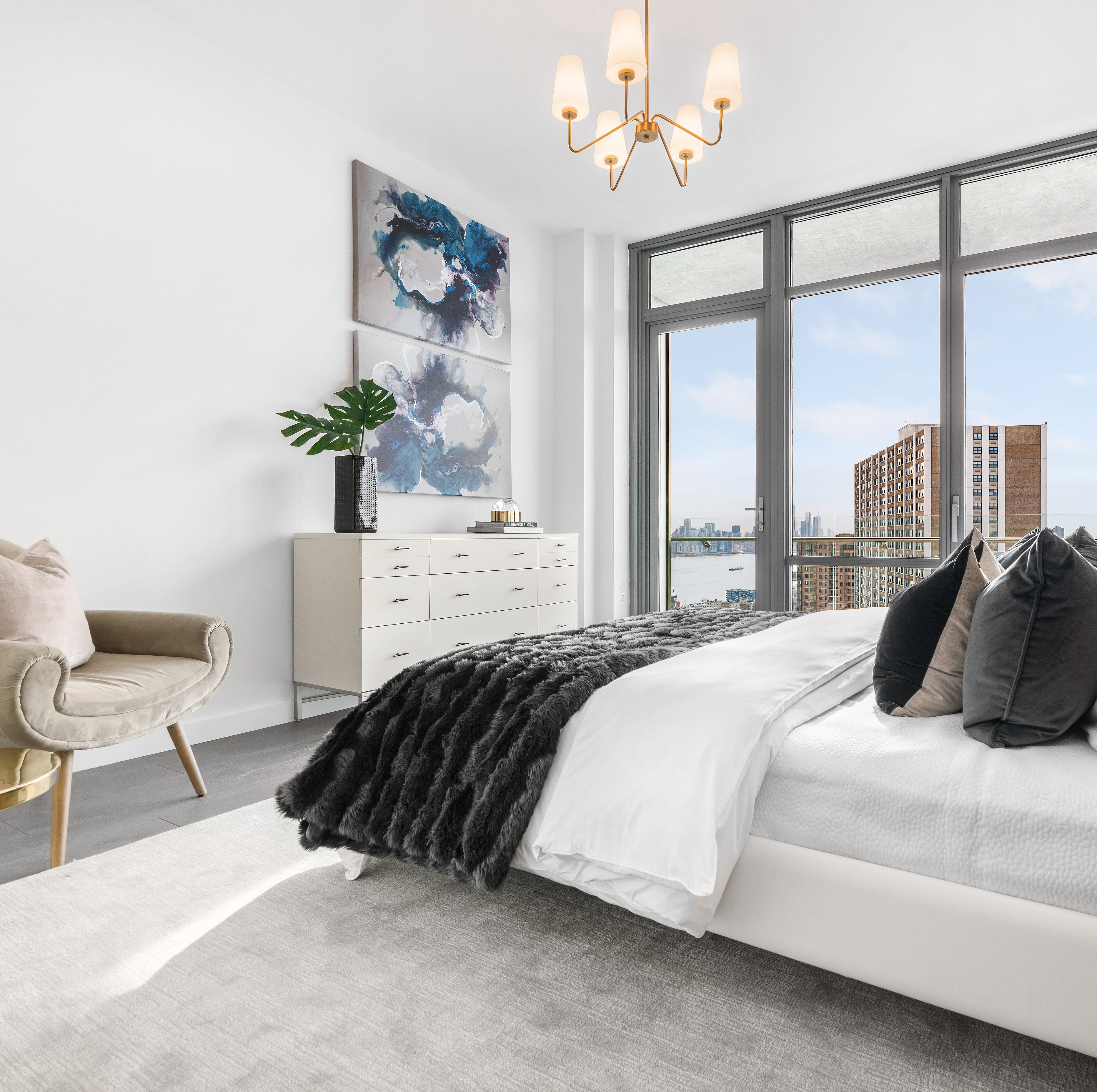 New penthouse model debuts at One Park condos