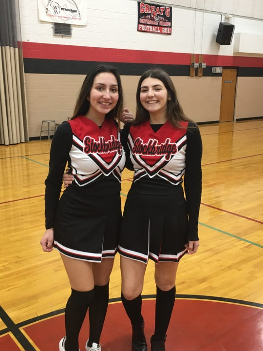 Francesca Chicca and Nina Goracci decided to spend their year at Stockbridge competing on the dance team.