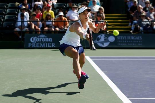 Viktorija Golubic won the Indian Wells Oracle Challenger Series final over American Jennifer Brady on Sunday, Marcyh 3, 2019