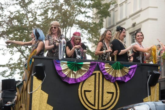 This year's Pensacola Grand Mardi Gras Parade is expected to be among the largest ever with over 210 entries and approximately 6,000 parade participants.