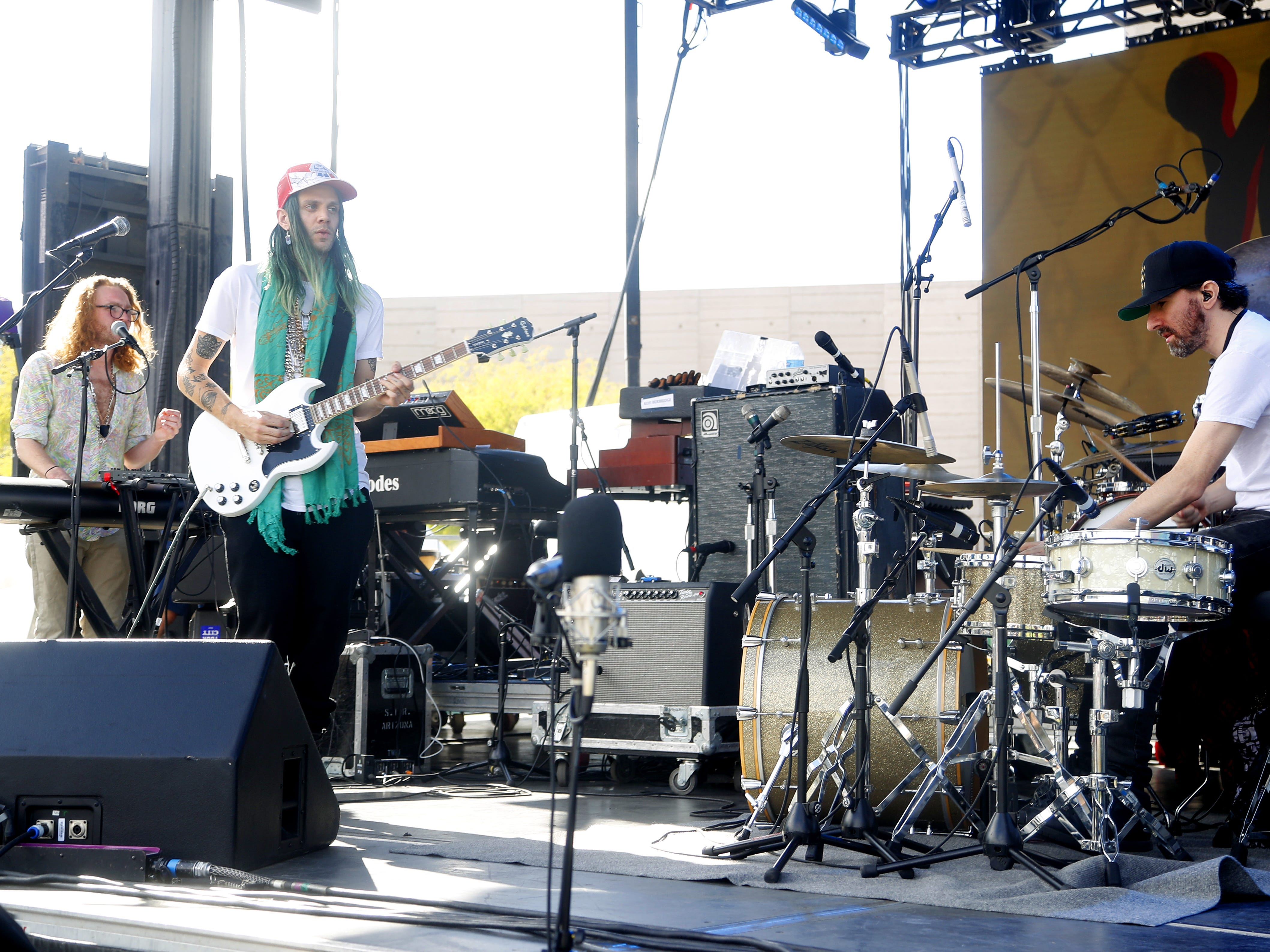 Young & Sick perform during the McDowell Mountain Music Festival in Phoenix, Ariz. on March 2, 2019.