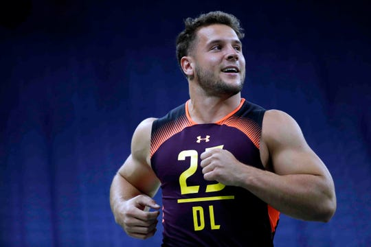 Nick Bosa has toned down his social media posts before the 2019 NFL draft.