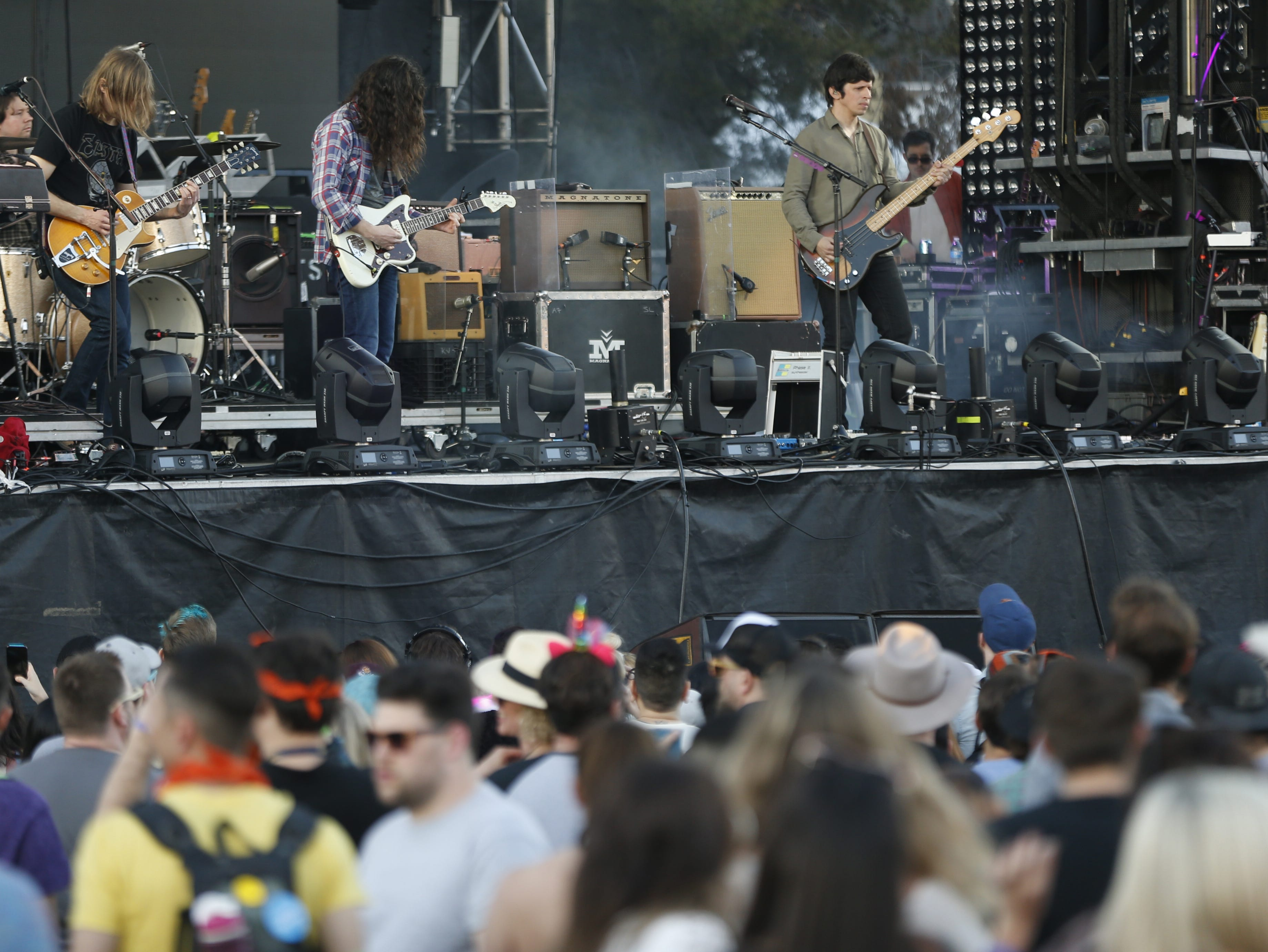Kurt Vile and The Violators perform during the McDowell Mountain Music Festival in Phoenix on March 2, 2019.