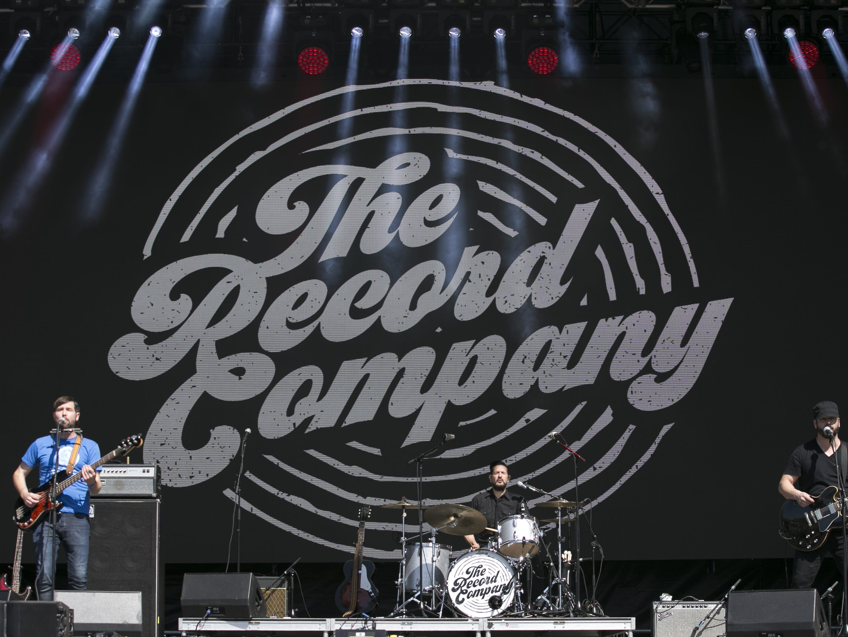 The Record Company performs at the Innings Festival at Tempe Beach Park in Ariz. on Sunday, March 3, 2019.
