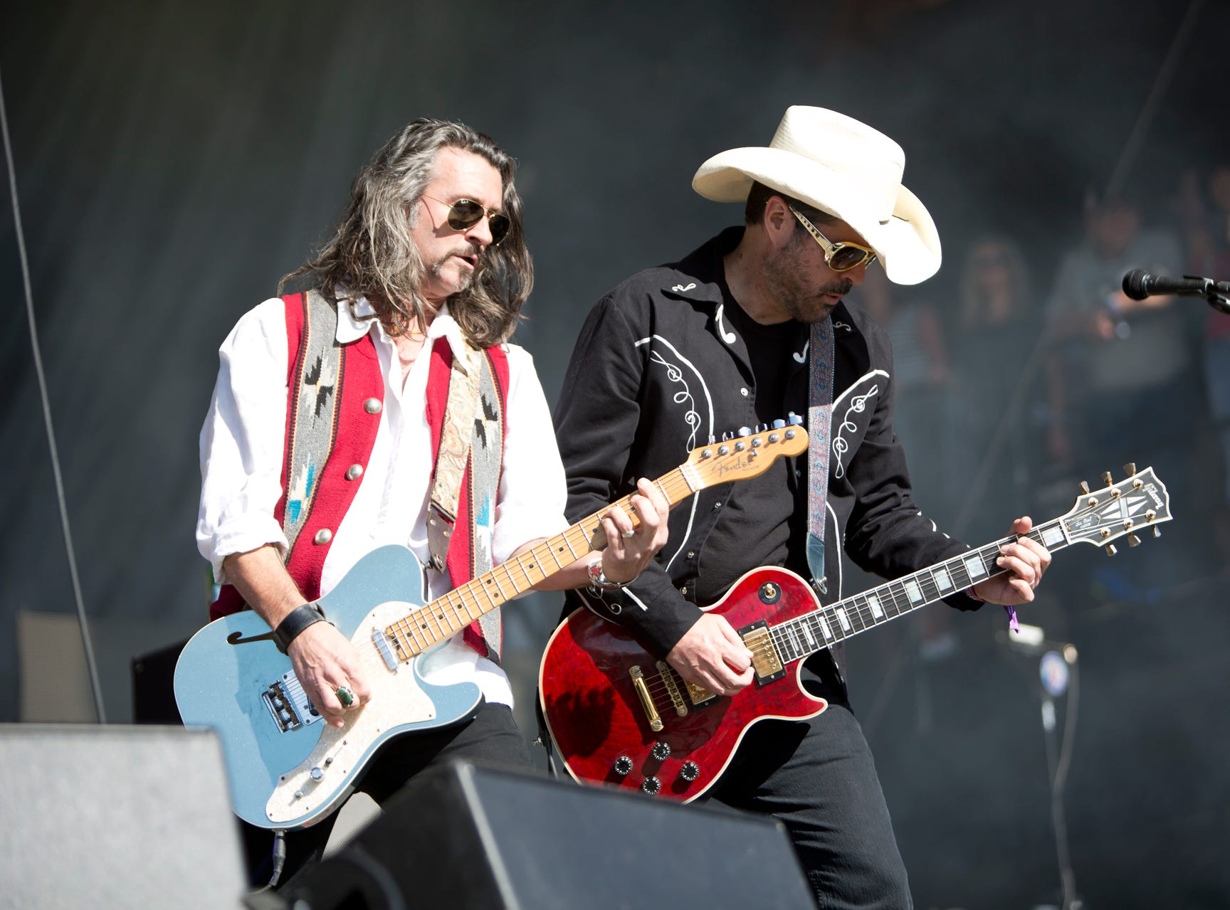 Roger Clyne and The Peacemakers perform during the Innings Festival on March 2, 2019, at Tempe Beach Park in Tempe.