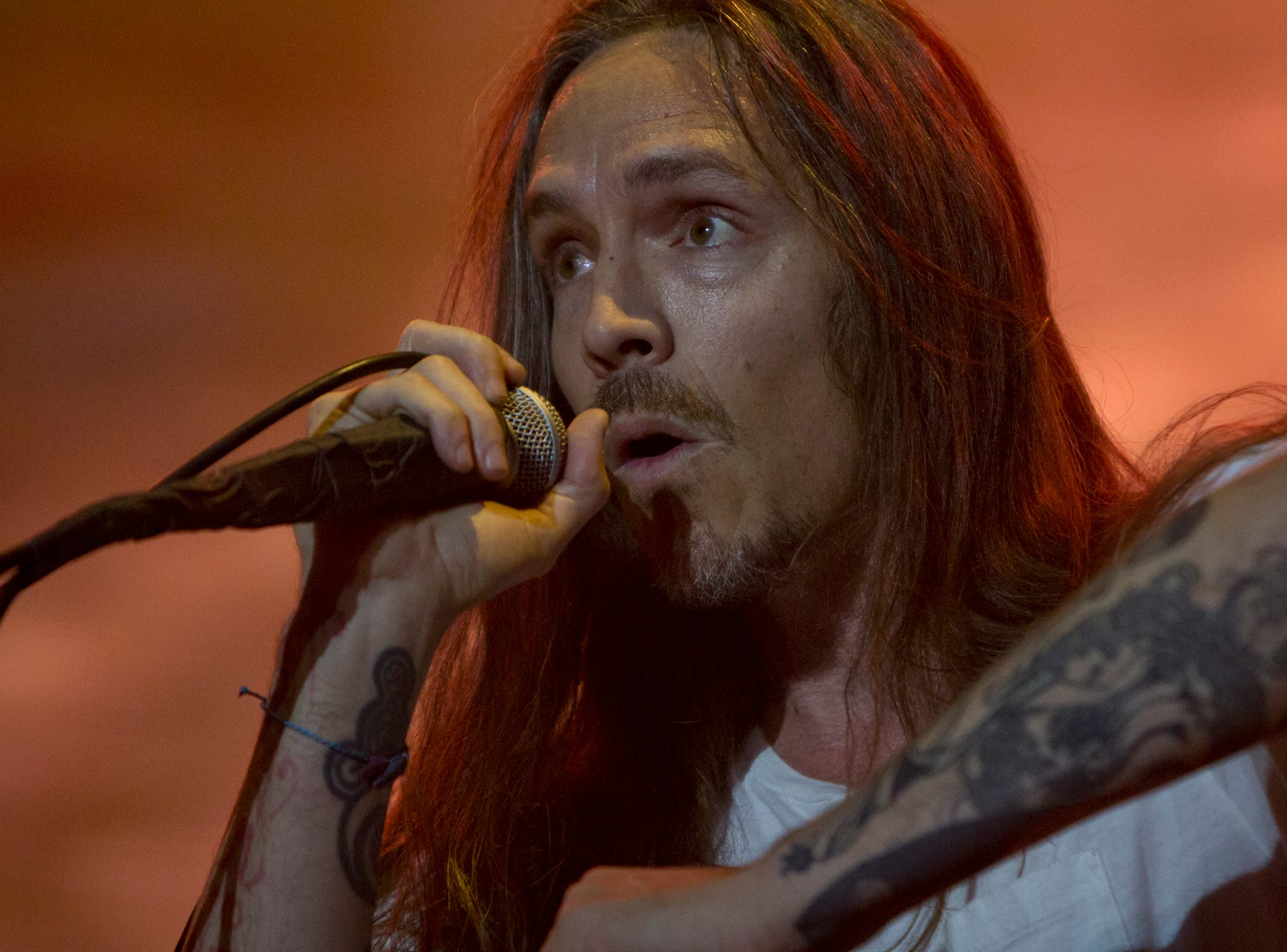 Incubus performs during the Innings Festival on March 2, 2019, at Tempe Beach Park.