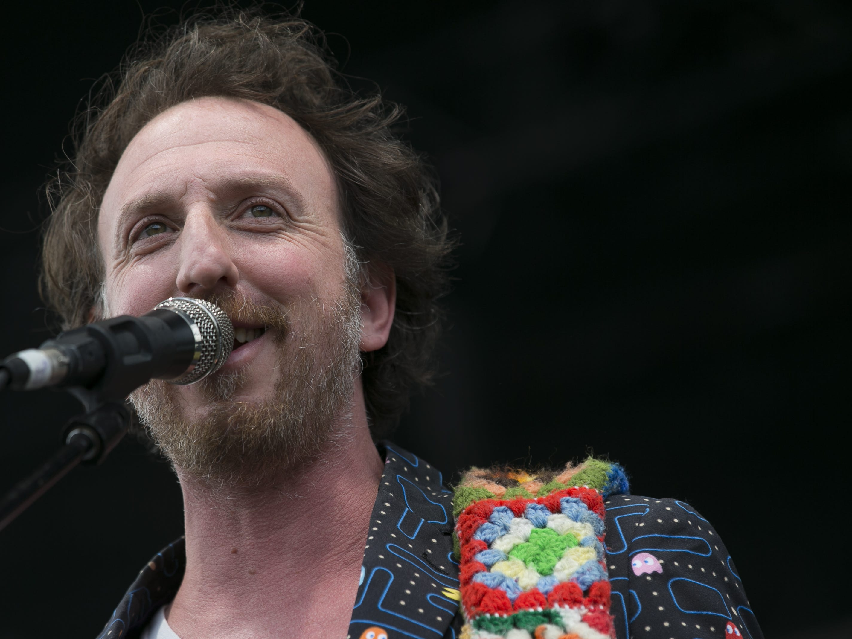 Guster performs at the Innings Festival at Tempe Beach Park in Ariz. on Saturday, March 2, 2019.