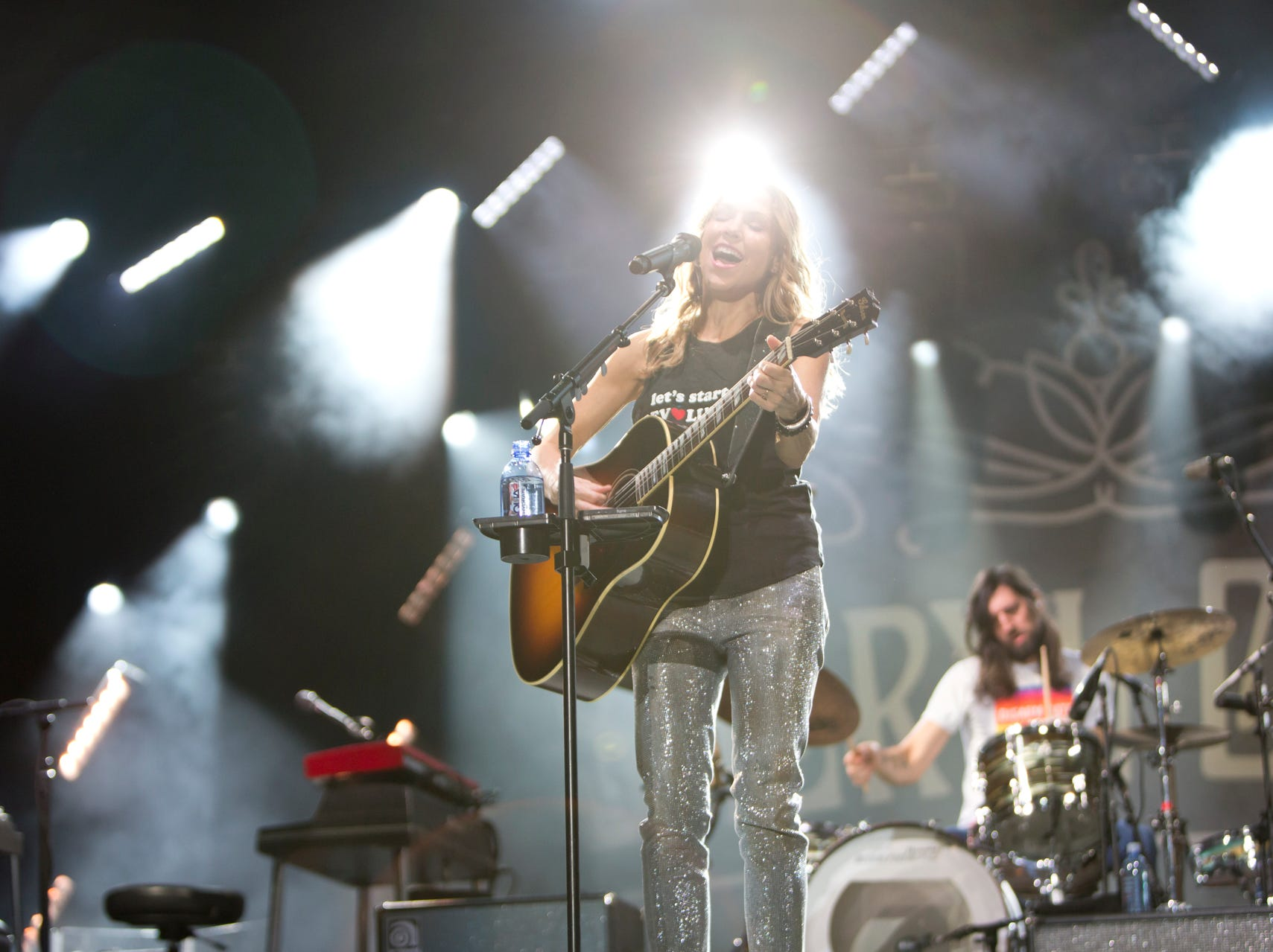 Sheryl Crow performs during the Innings Festival on March 2, 2019, at Tempe Beach Park.