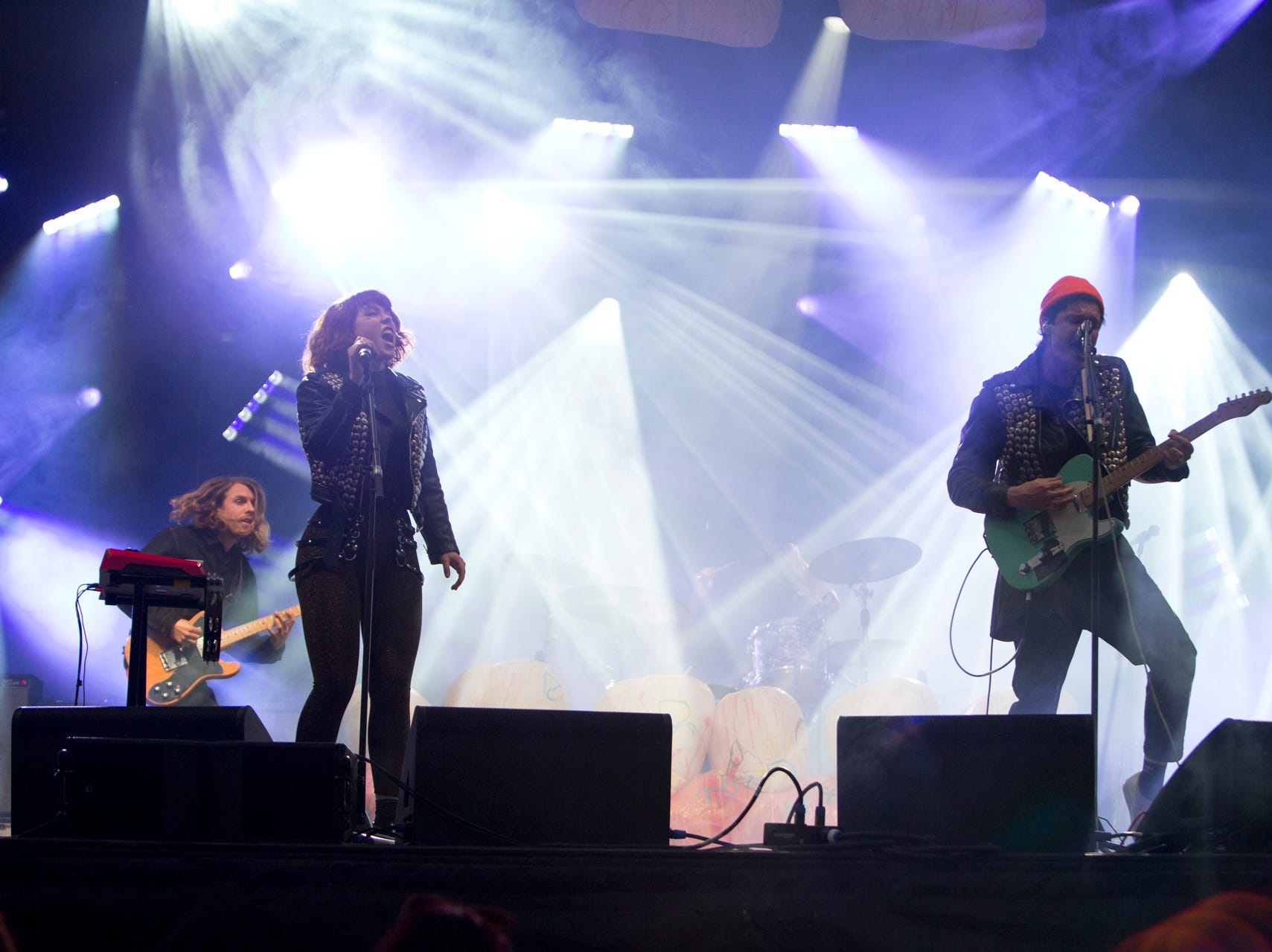 Grouplove performs during the Innings Festival on March 2, 2019, at Tempe Beach Park.