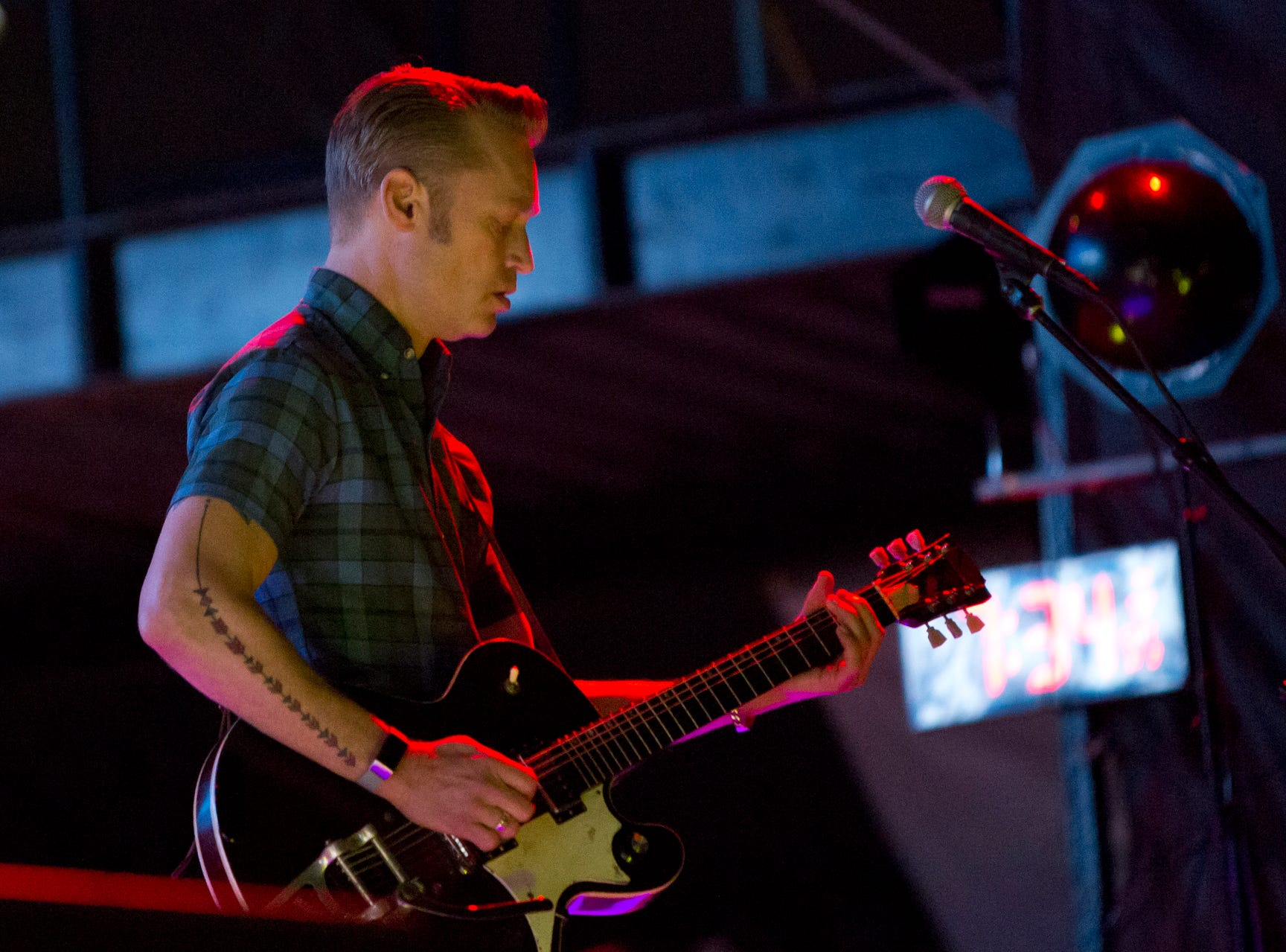 Cake performs during the Innings Festival on March 2, 2019, at Tempe Beach Park.