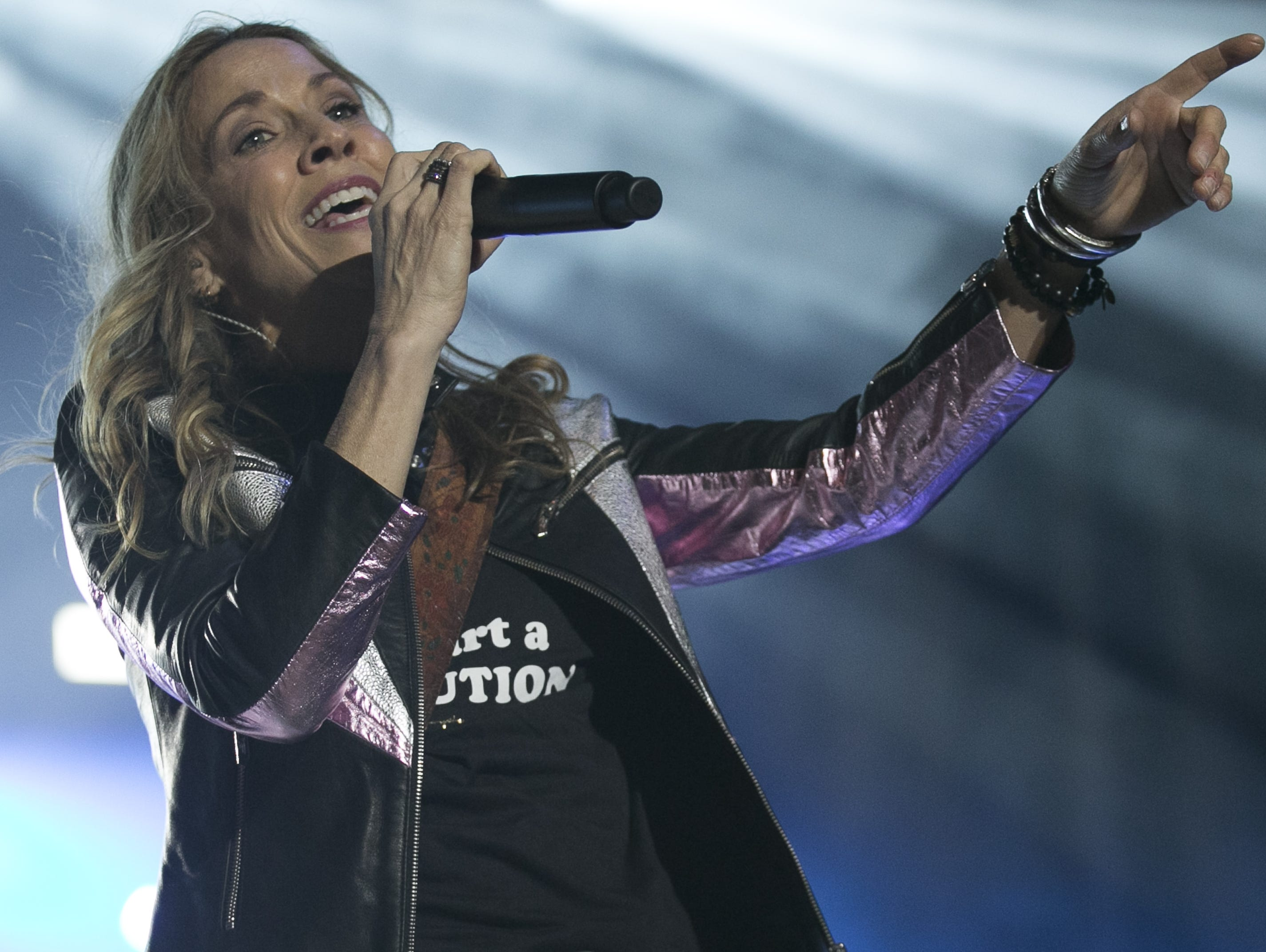 Sheryl Crow performs at the Innings Festival at Tempe Beach Park in on March 2, 2019.