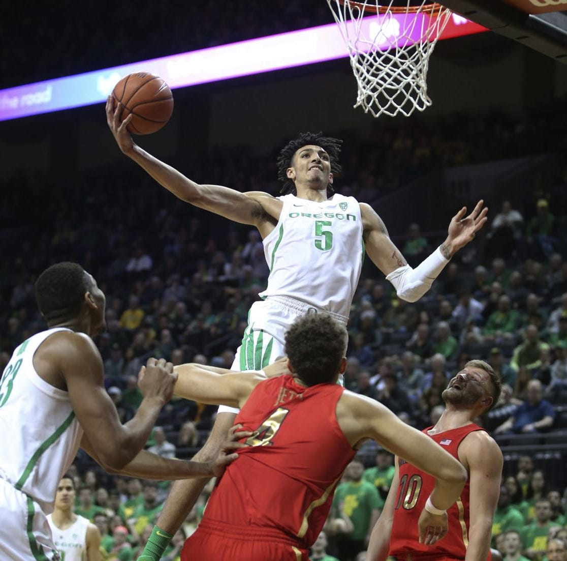 Arizona basketball can't withstand second-half run at Oregon