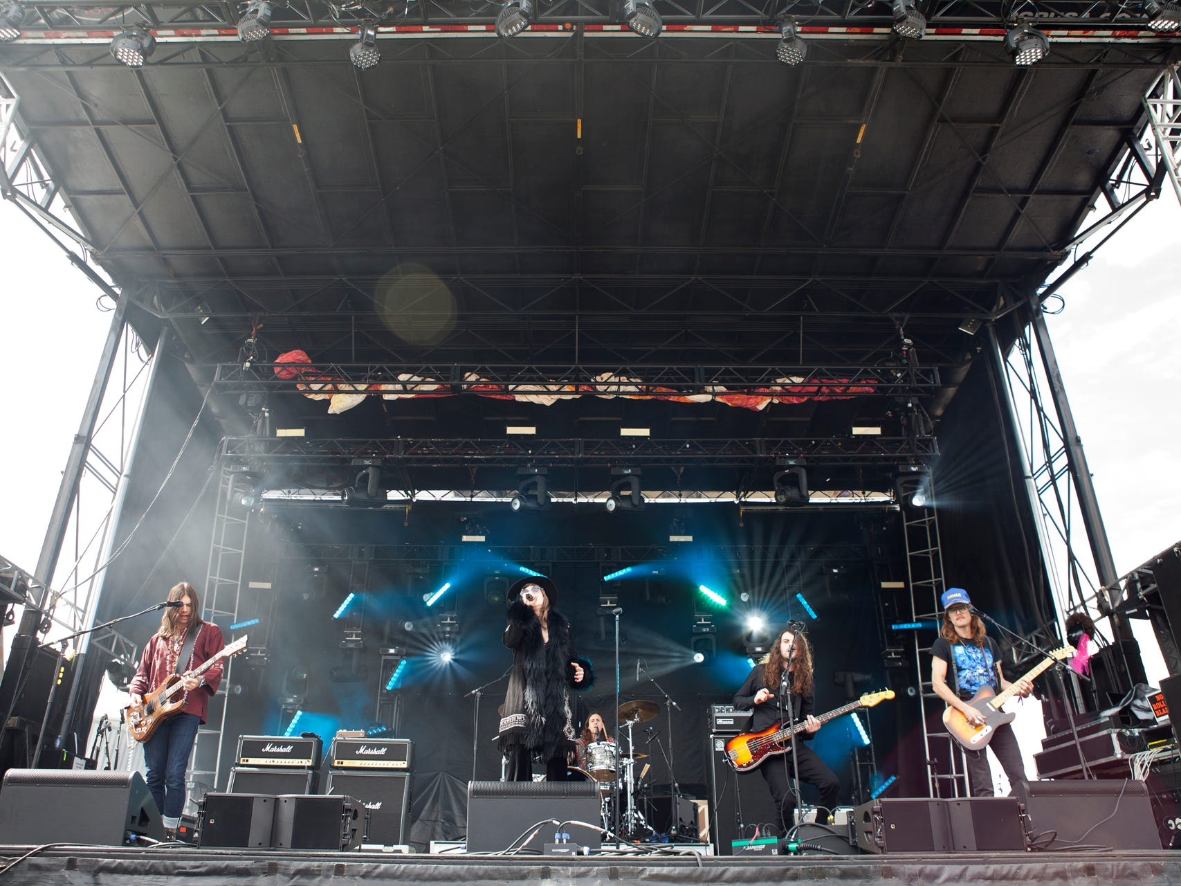 Dorothy perform during the Innings Festival at Tempe Beach Park on Saturday, March 2, 2019.