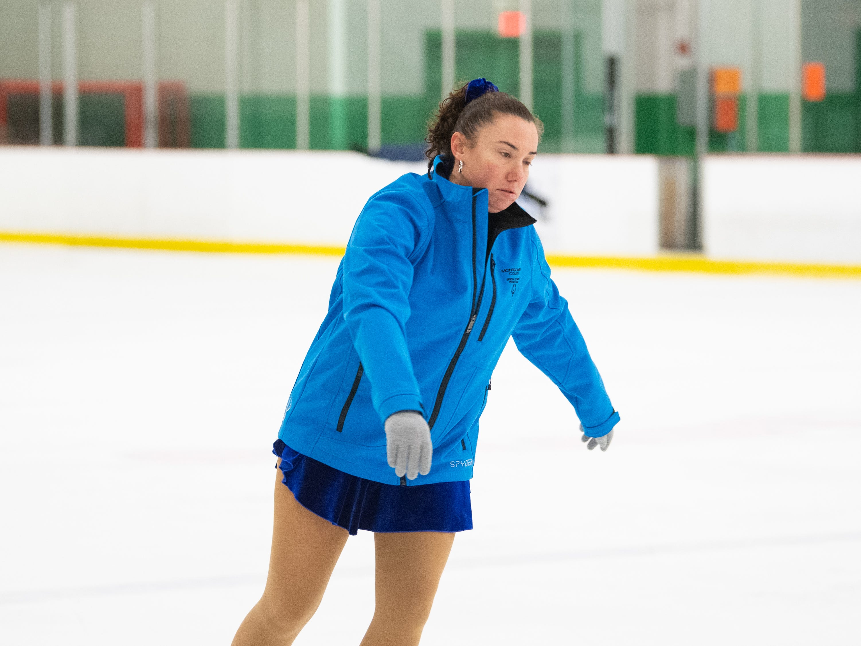 The Special Olympics Pennsylvania Indoor Winter Games features a figure skating competition, March 2, 2019.