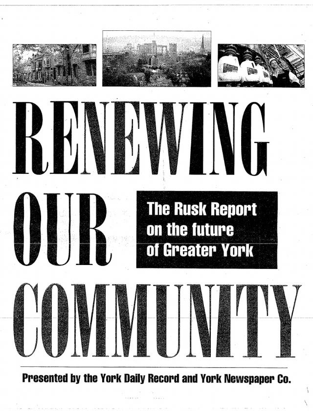 Report When Black Students And White >> Rusk Report 3 0 The Suburbanization Of York County S Black