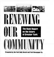 The cover of the first Rusk Report, published in 1996.