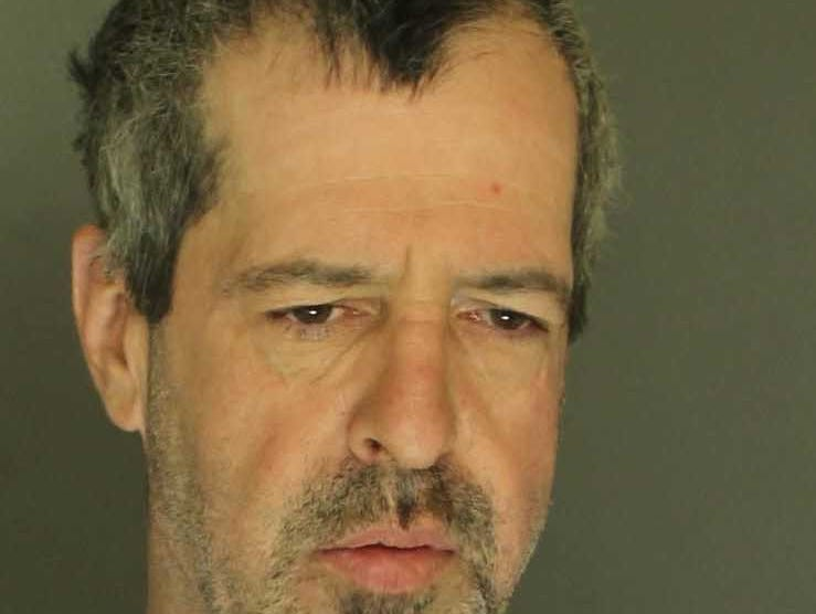 Guy Stringfellow, arrested for simple assault, terroristic threats and harassment.
