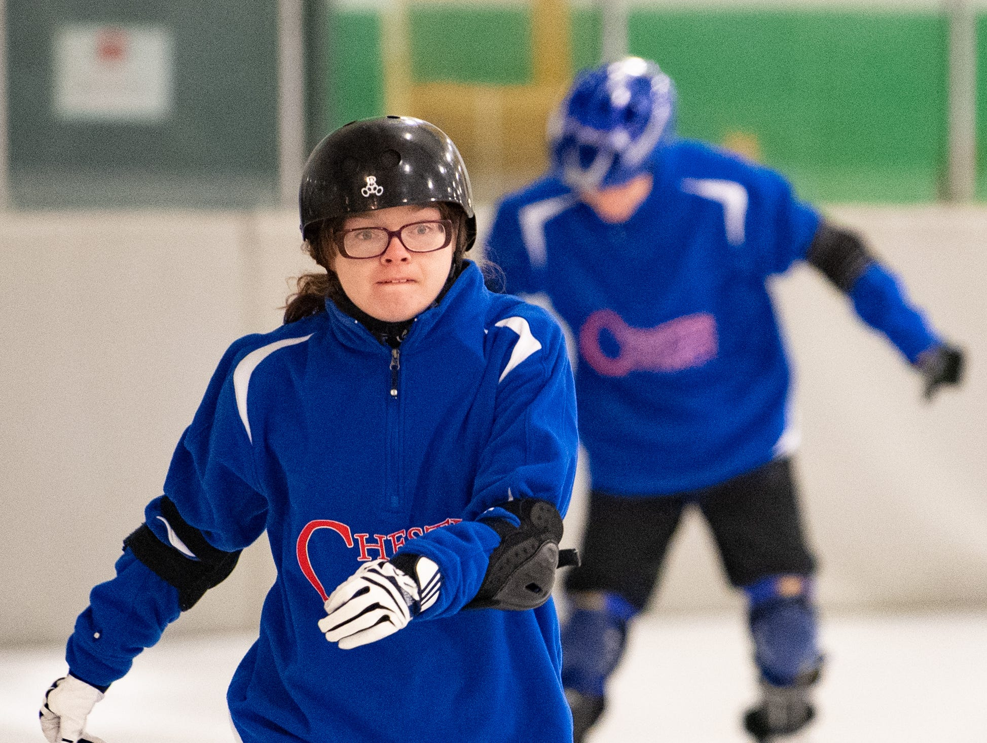 Both the speed and figure skating competitions are being held at the York Ice Arena during the Special Olympics Pennsylvania Indoor Winter Games, March 2, 2019.