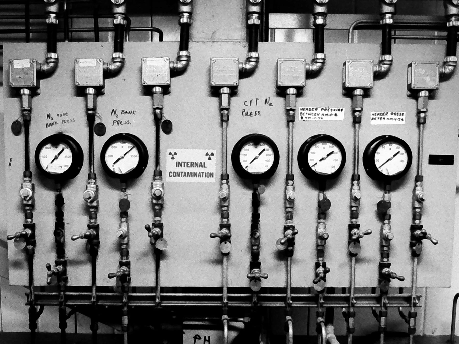 An undated photo of out of equipment at the Three Mile Island power plant.