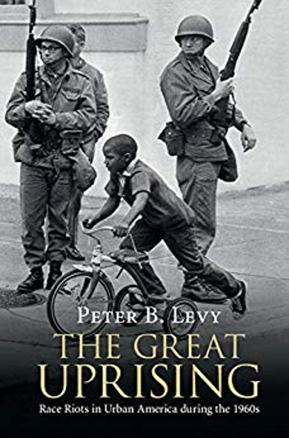 """The cover of """"The Great Uprising,"""" written by York College of Pennsylvania's Peter Levy."""