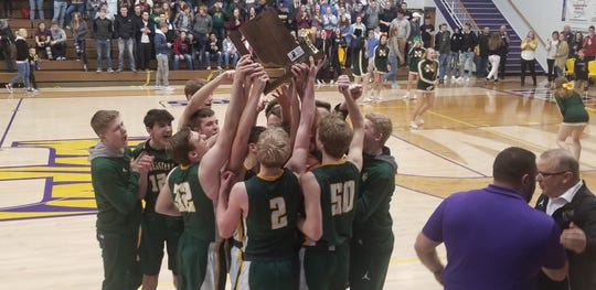 Northeastern won its fifth sectional in the last six years on Saturday, March 2, 2019.