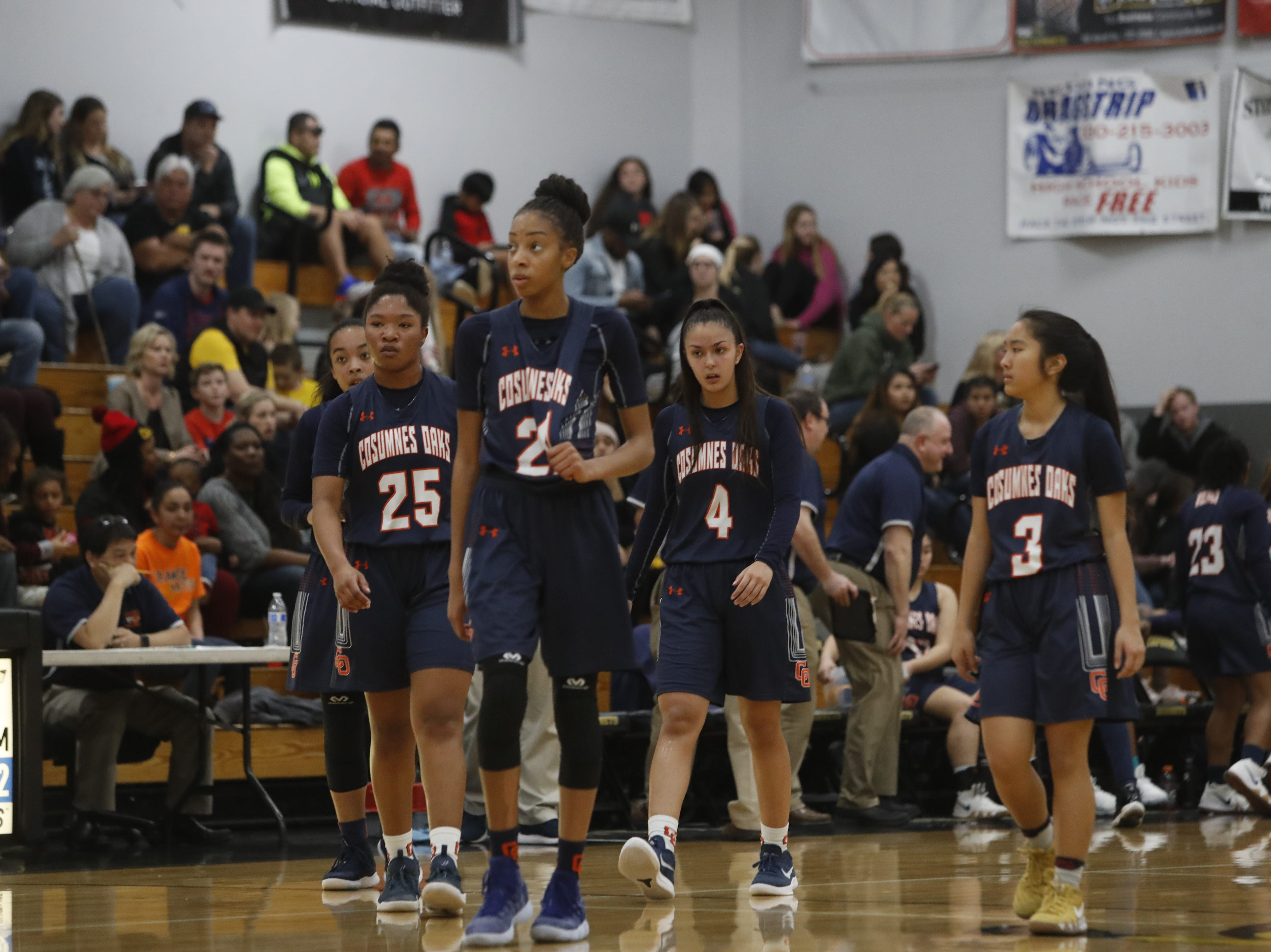 The Enterprise Hornets beat Cosumnes Oaks, 56-49, in the regional semifinals of the Division II state playoffs at Enterprise High on Saturday, March 2.