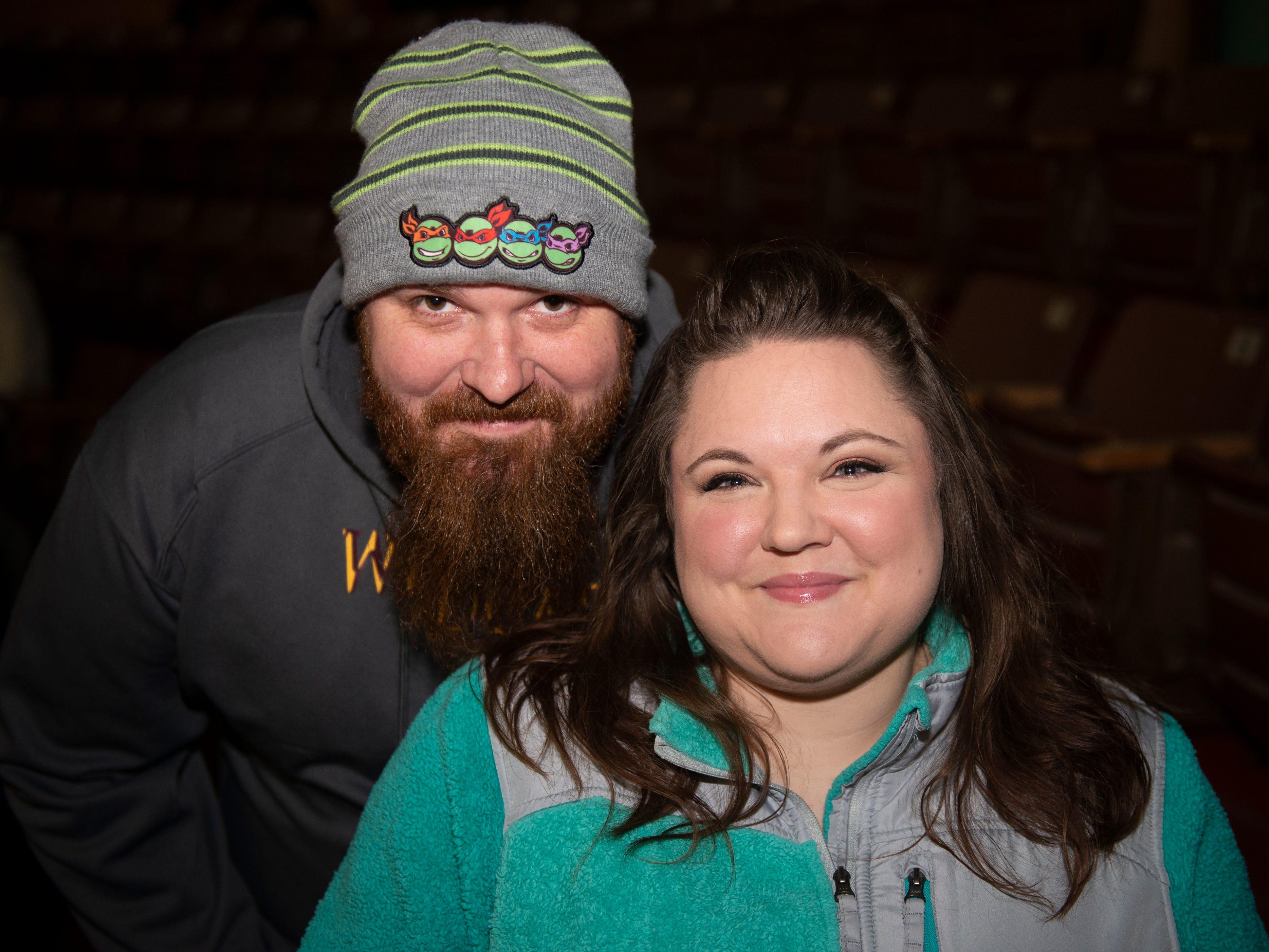 Rachel and Greg Myers