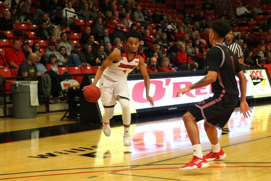 Drury forward Kamau Kinder had six rebounds for the Panthers on Saturday.