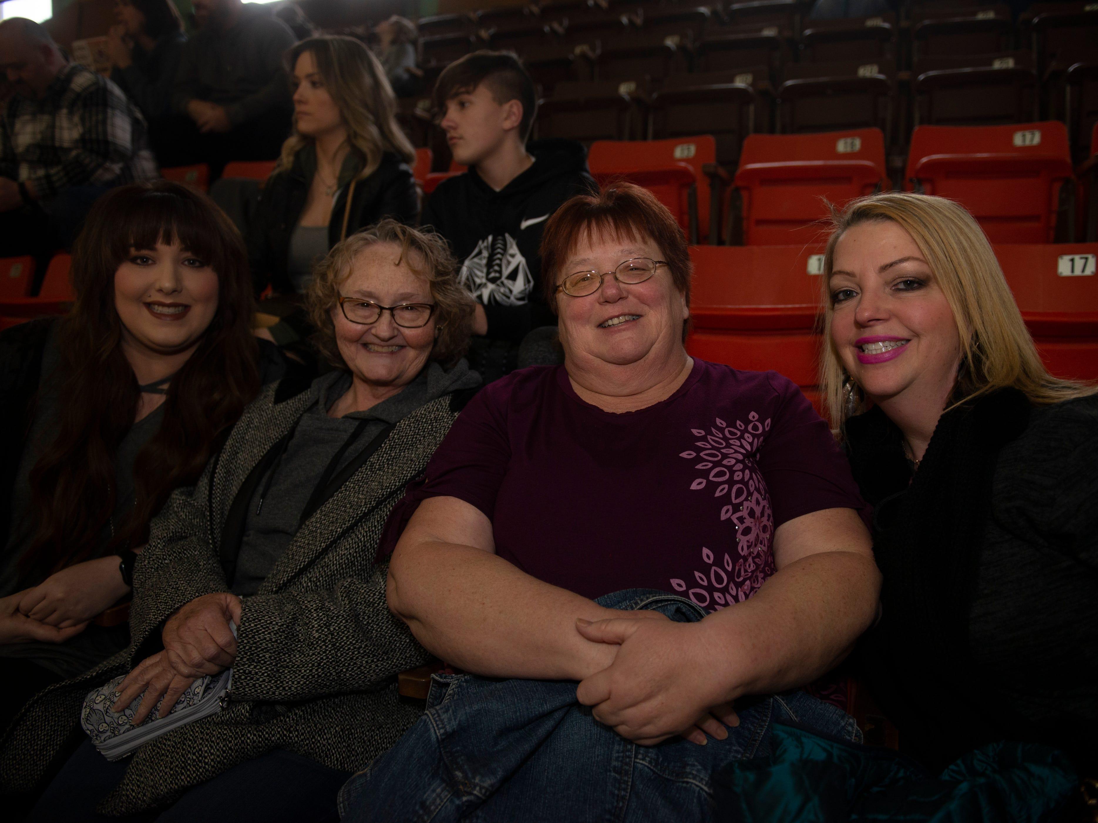 Rachel, Shelia, Kathy, Shelby