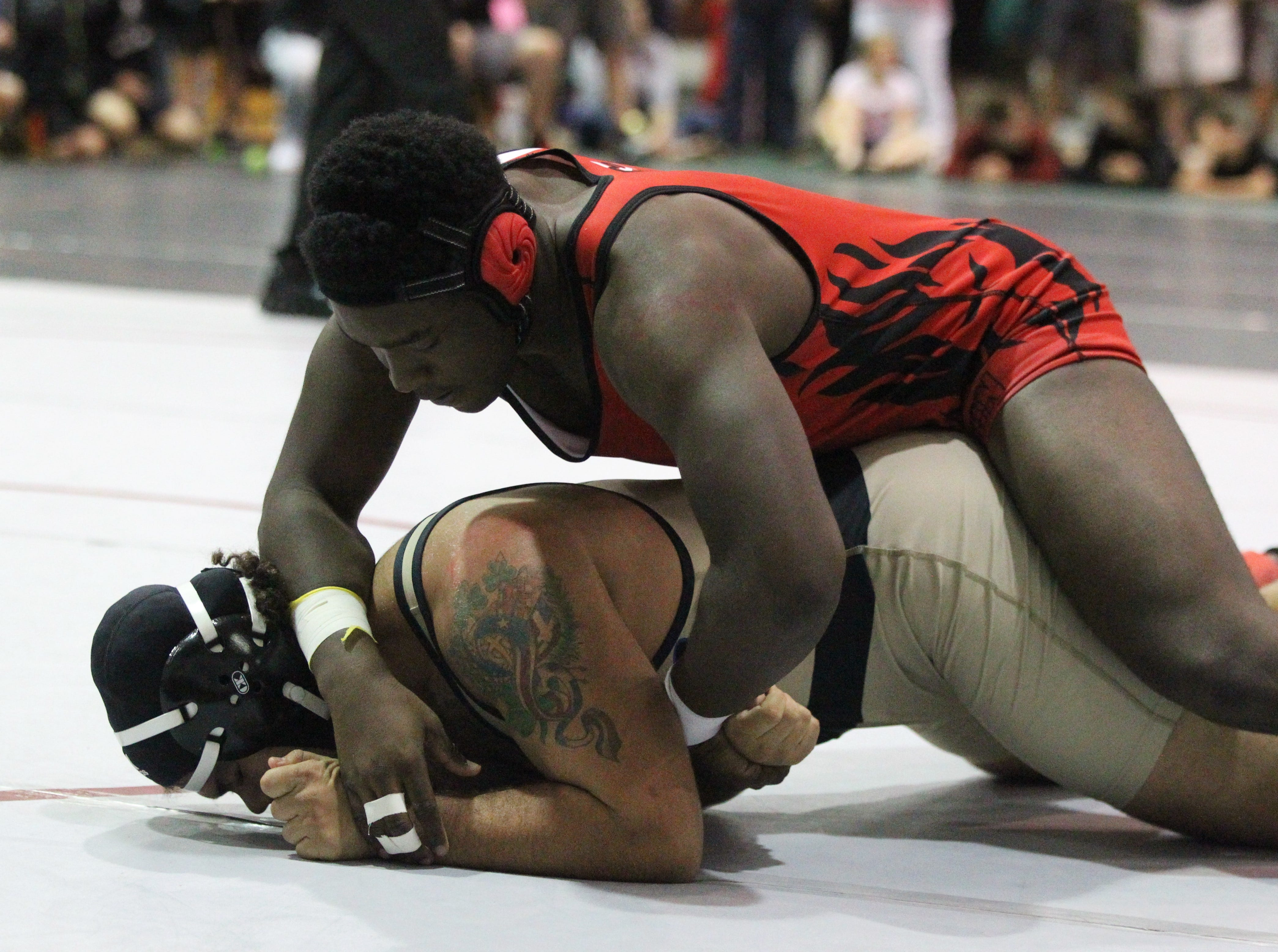 Chiles, Leon, Lincoln at Region 1-2A wrestling tournament at Chiles on March 2, 2019.