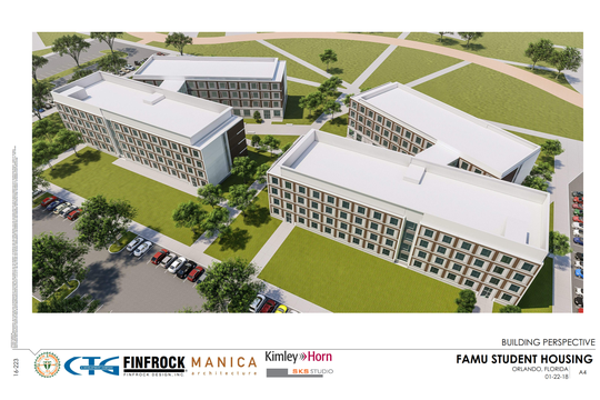 Florida A&M University will hold ceremonial groundbreaking at 4 p.m. Wednesday on 700-bed residence hall and dining facility.