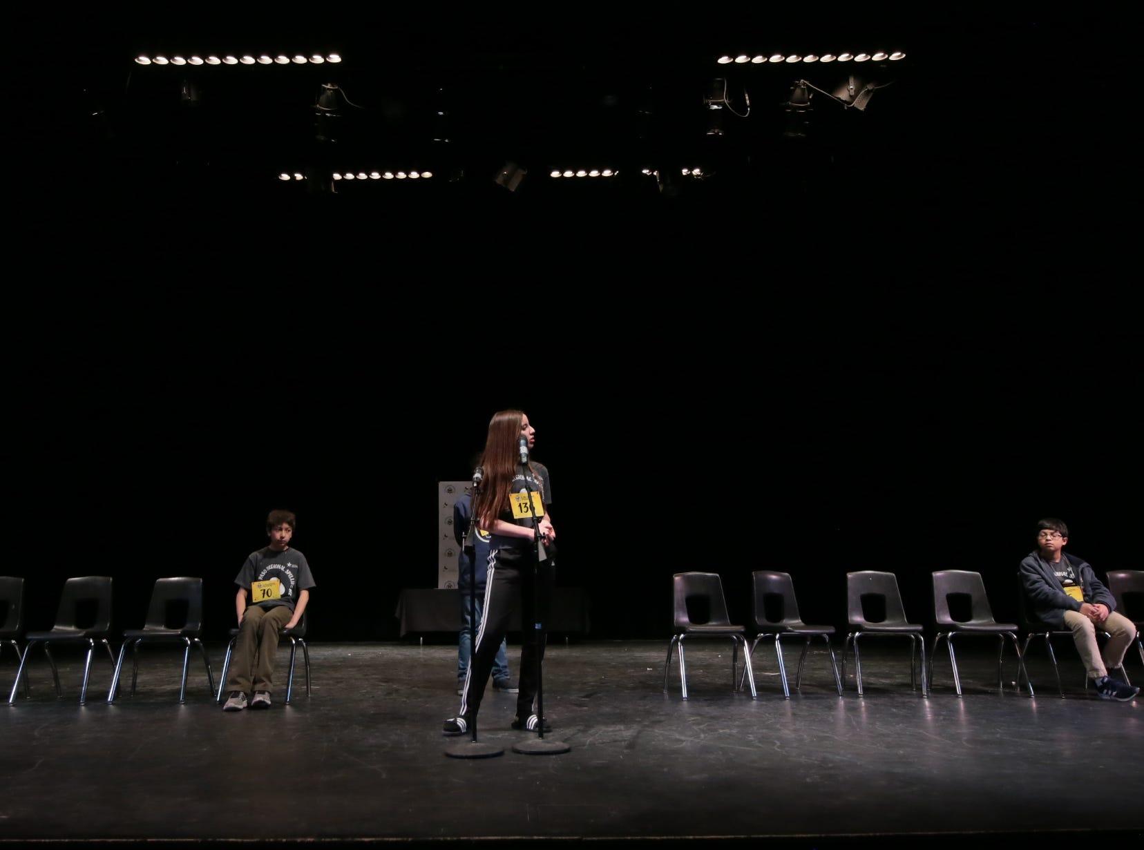 The top five spellers compete Saturday in the 2019 El Paso Regional Spelling Bee.