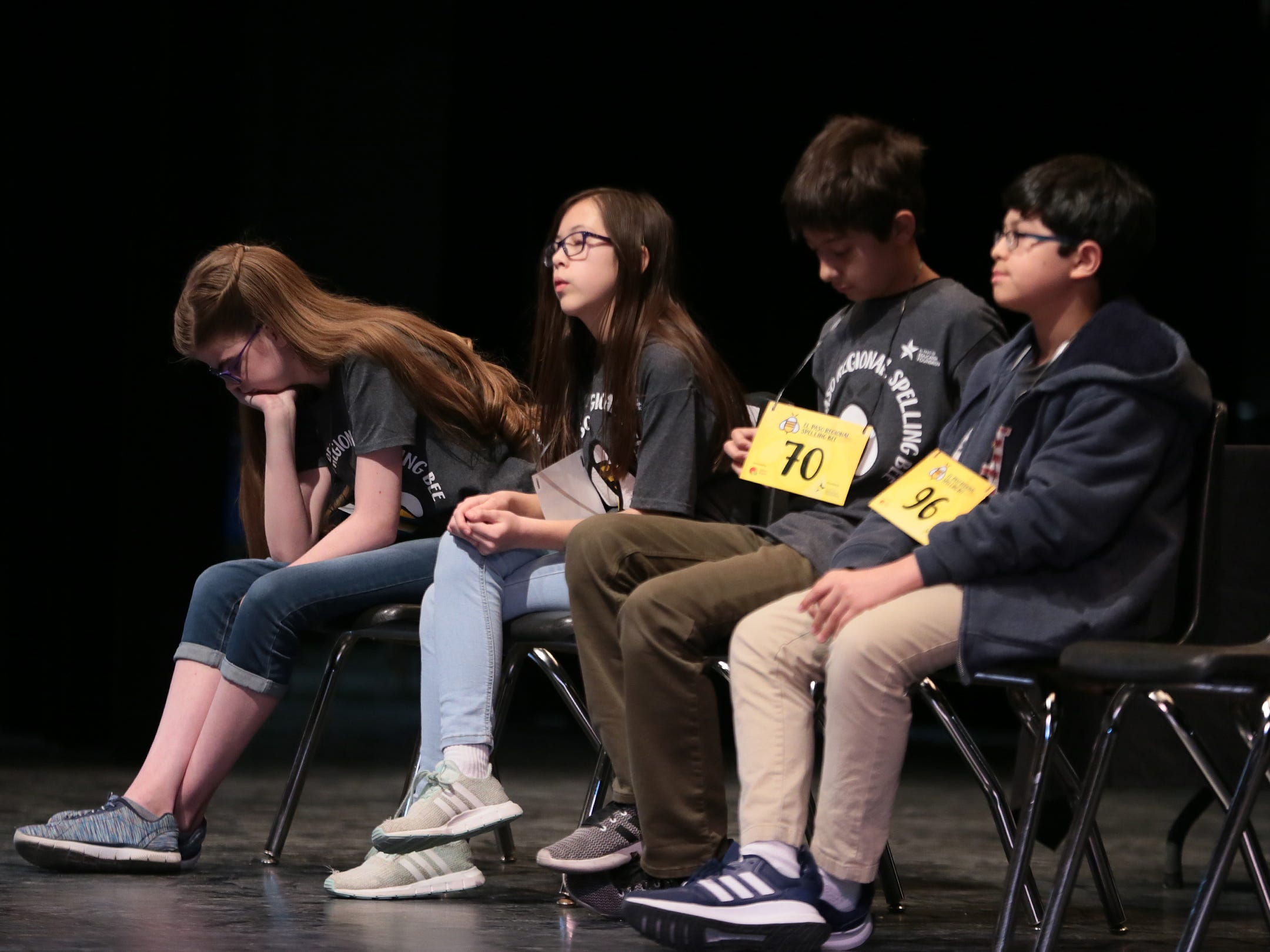 158 students from around the area competed Saturday in the 2019 El Paso Regional Spelling Bee at Bowie High School. Lincoln Middle School's Penelope Moore, 13, won the title.