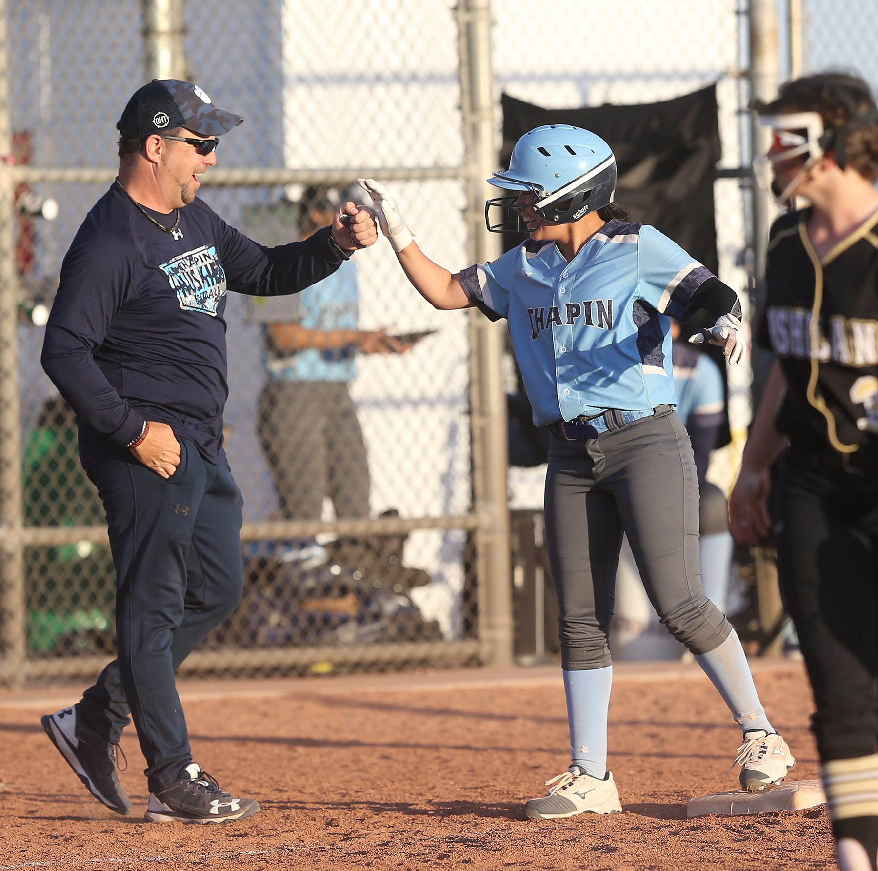 Chapin defeated Bushland High School 9-2 in March to win the Fox Country Fast Pitch Softball Tournament at Northeast Regional Park.