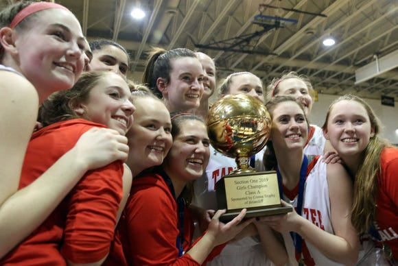 Tappan Zee defeated Somers 45-44 in the Section 1 Class A championship game at Pace University in Pleasantville March 2, 2019.