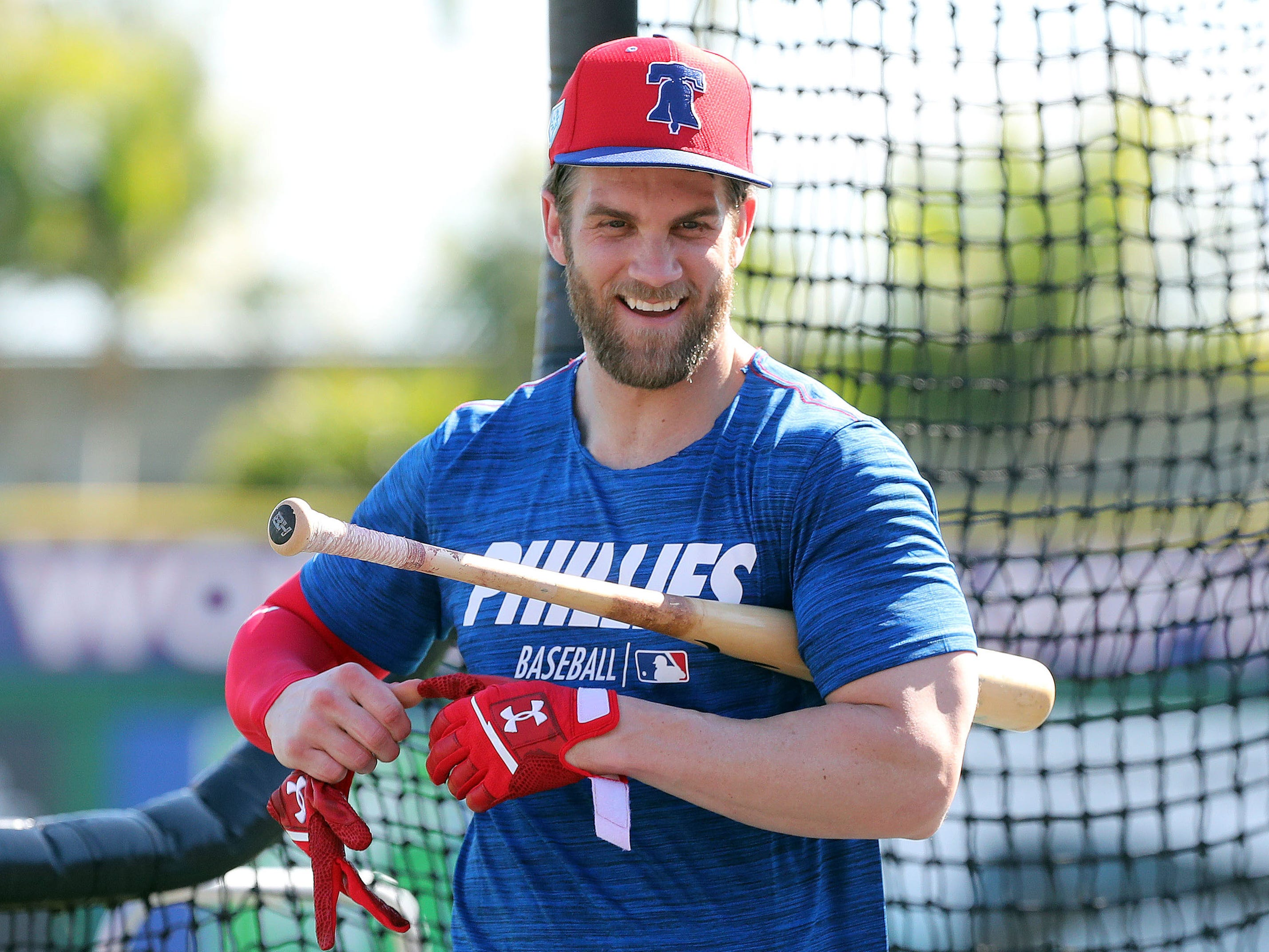 Tampering? Bryce Harper discusses recruiting Angels star Mike Trout to join Phillies