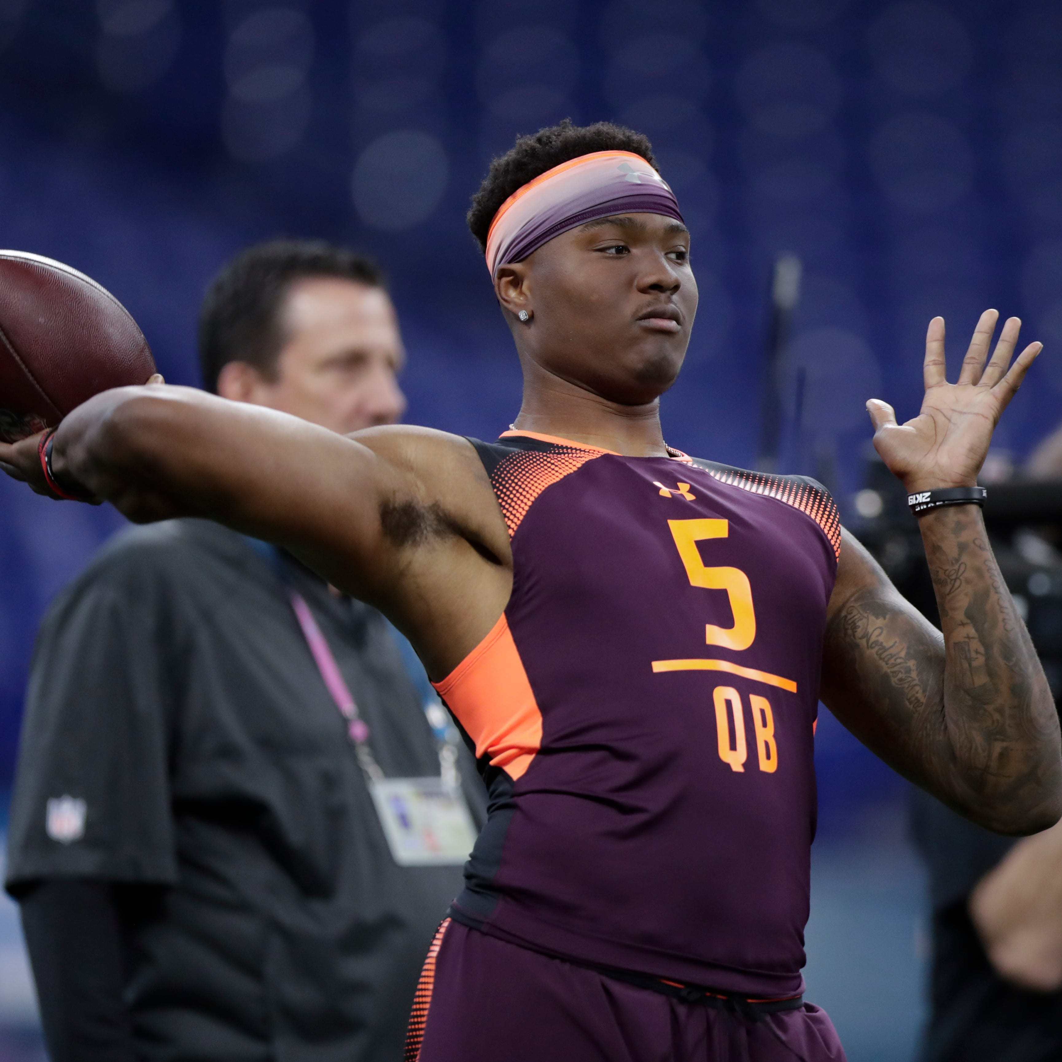 Detroit Lions get Ohio State QB Dwayne Haskins in recent NFL mock draft