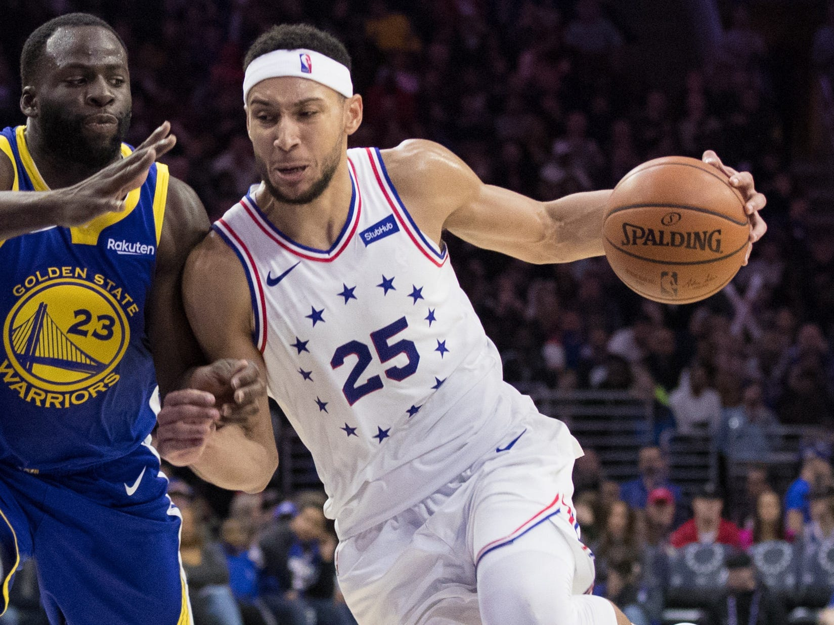 92. Ben Simmons, 76ers (March 2): 25 points, 15 rebounds, 11 assists in 120-117 loss to Warriors (10th of season).