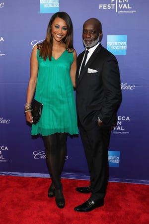 Cynthia Bailey and Peter Thomas arrived at Tribeca Film Festival in New York on April 19, 2013.