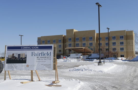 Fairfield Inn & Suites by Marriott is under construction in Grand Chute.