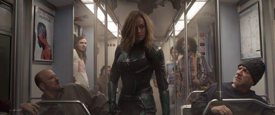 "A scene from ""Captain Marvel"" (2019)."