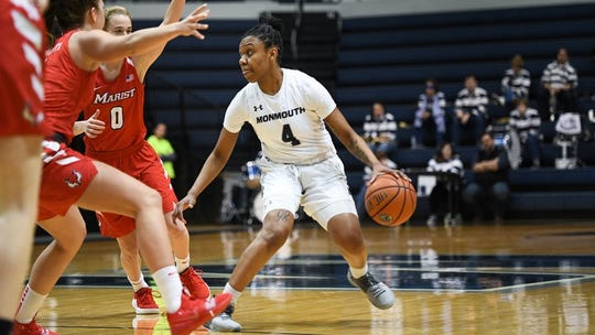 Monmouth junior Sierra Green was a second-team All-MAAC selection for the 2018-19 season.