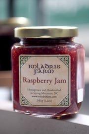 Imladris Farm jams are made in Spring Mountain, North Carolina and sold around Asheville.