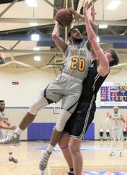 Mohammed Albagami is finishing up his final year for the Mount Mercy Mustangs.