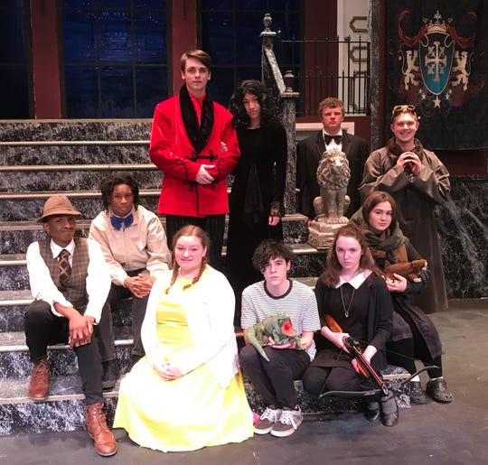 "Binghamton High School will present ""The Addams Family"" March 7-9 at the Helen Foley Theatre."