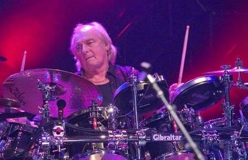 Yes drummer Alan White.