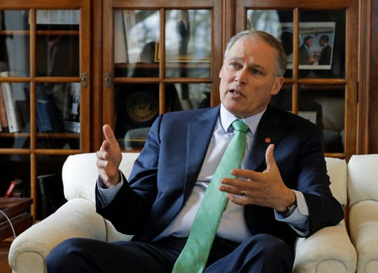 Washington Gov. Jay Inslee has struggled to get his own state to adopt climate-change legislation as he launches a presidential campaign spotlighting the issue.