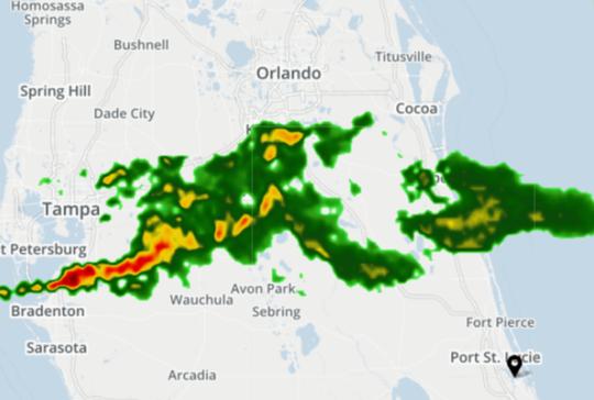 Radar 6:30 a.m.